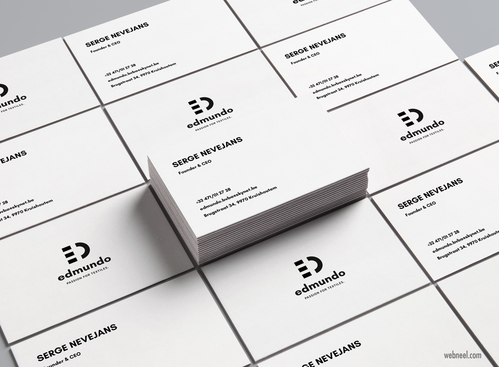 corporate business card design by arnaud