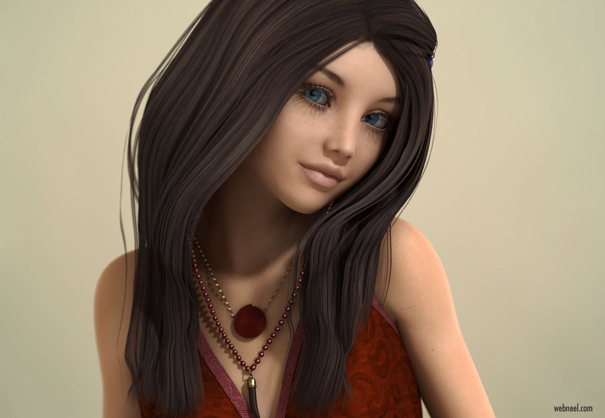 20 Realistic Daz3D Models and character designs for your inspiration