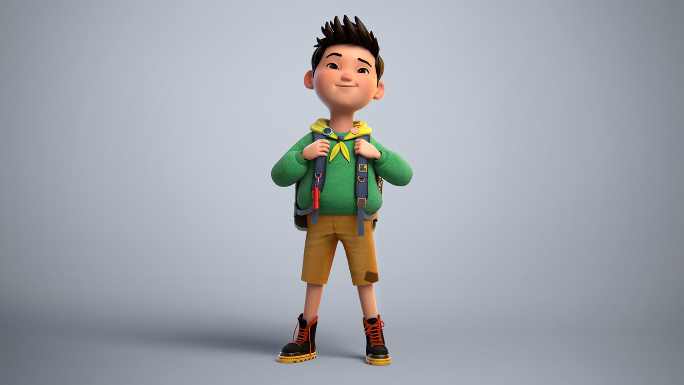 3d model son by elijah akouri
