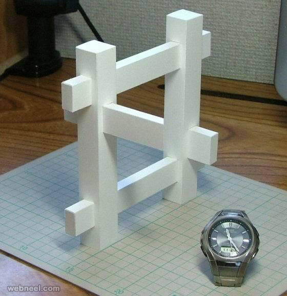 illusion sculpture