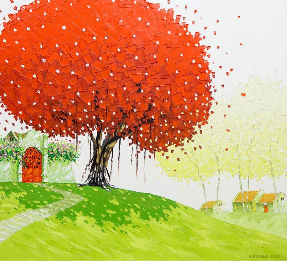 tree paintings
