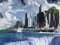 11-waterfall-city-digital-matte-painting