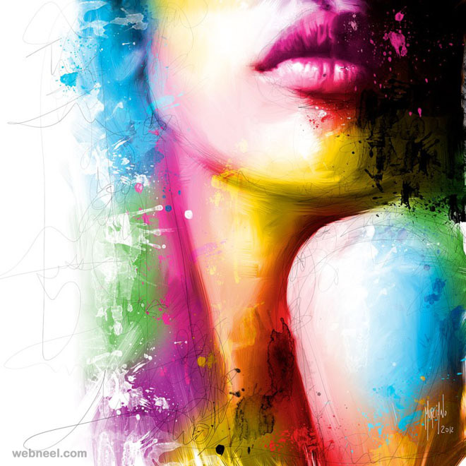 colorful colourful painting best colors