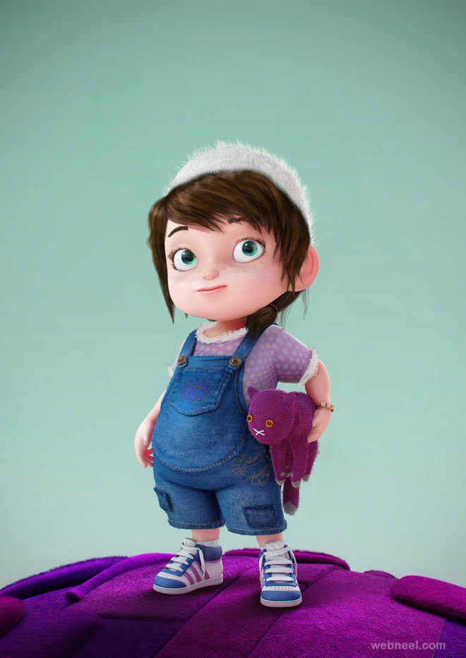 Funny 3d characters we have added funny beautiful and creative 3d