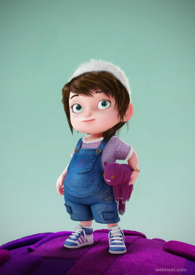Cartoon Character Design Inspiration : Most funniest d character designs funny characters