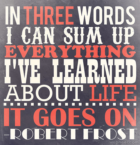 motivational typography
