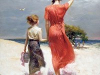 2-afternoon-stroll-painting-by-pino-daeni