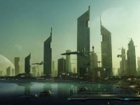 2-beach-city-digital-matte-painting