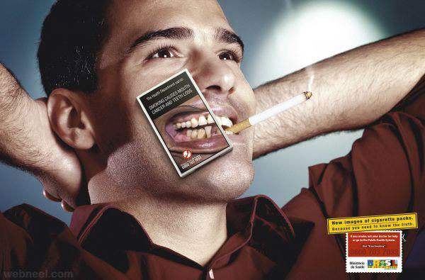comparing smoking and antismoking advertisement Effectiveness of antismoking campaign strategies on smoking effectiveness of antismoking campaign strategies antismoking advertising, chinese smoking.