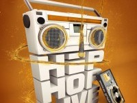 23-3d-typogrpahy-Hip-Hop-Live