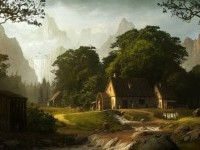 23-village-digital-matte-painting