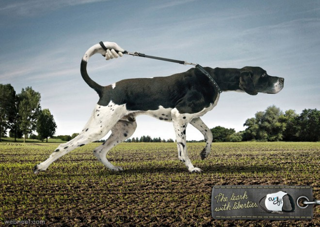 the leach with liberties animal ad
