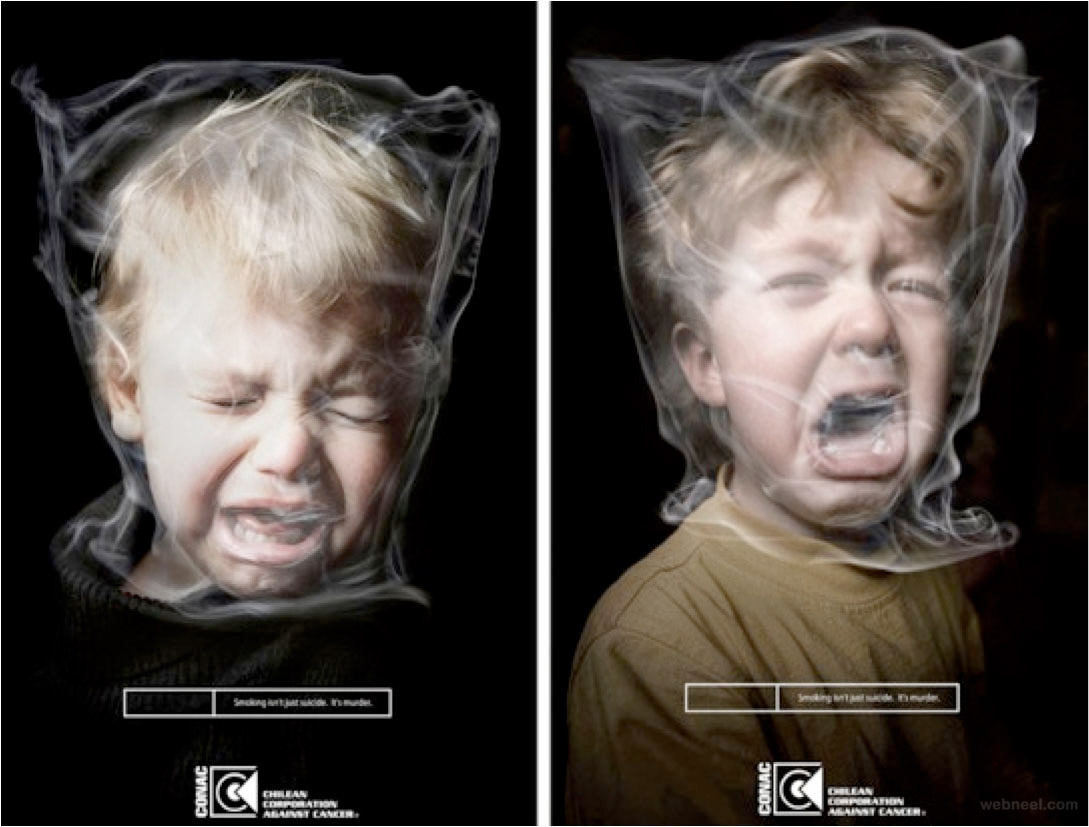 creative anti smoking ad
