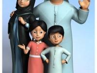 29-sheik-family-3d-cartoon-character