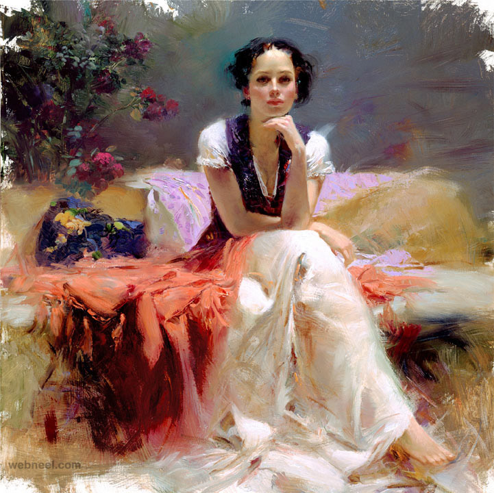 first glance painting by pino daeni