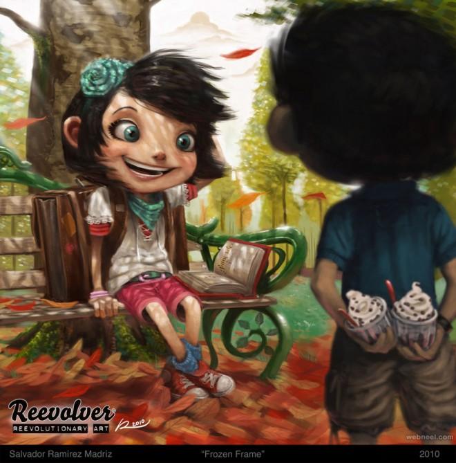 digital art character comic editorialRamirez Madriz