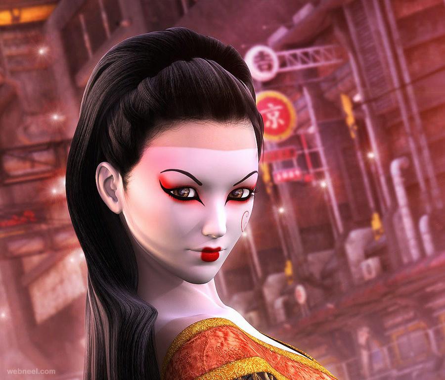 3d fantasy model