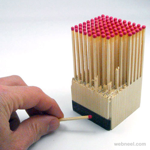 matchstick brilliant packaging design