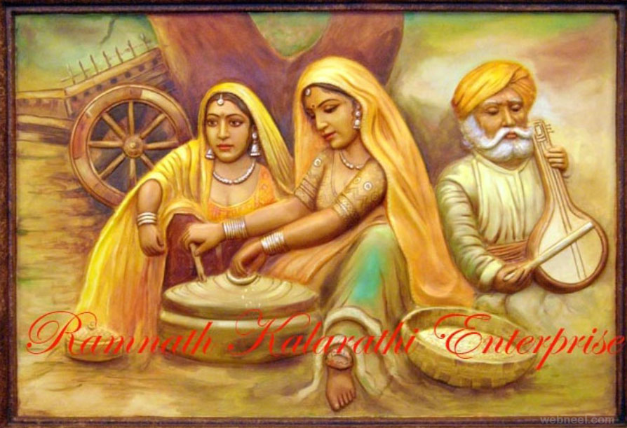 Arts And Paintings Of Rajasthan