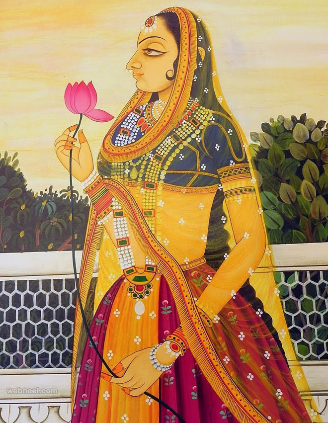 nude indian women art
