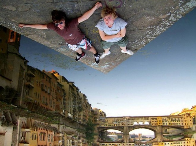 8 amazing forced perspective photography