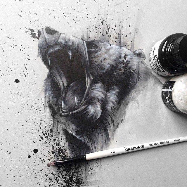 Animal painting by solwhiteside