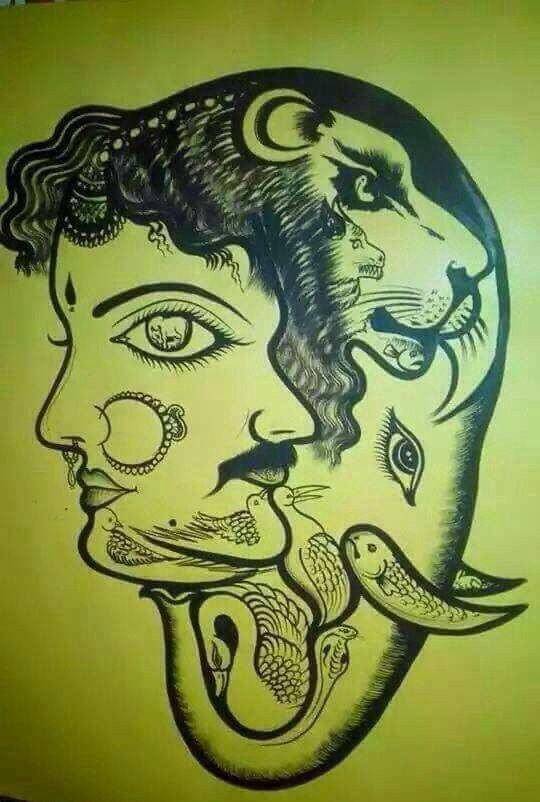 creative illusion art by suthan sapabathy