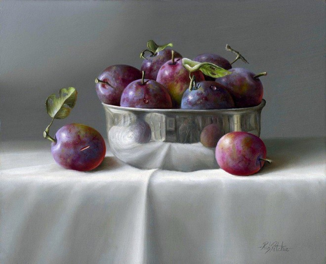 stil life painting by ruh ritchie