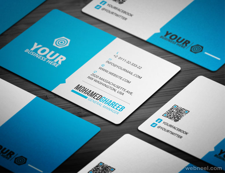 corporate business card design - Unique Business Card Ideas