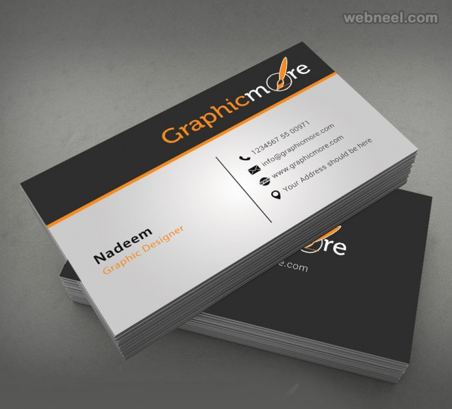 50 Creative Corporate Business Card Design Examples - Design