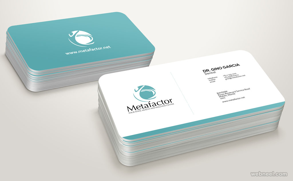 corporate business card design 12