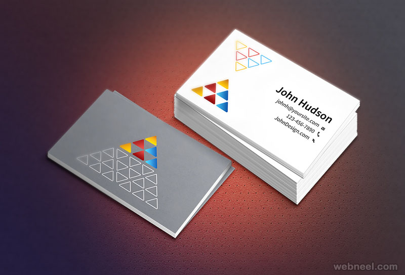 corporate business card design