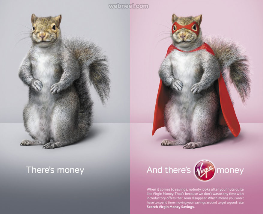 50 Animal Themed Print Advertisements And Print Ads