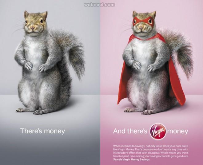 animal advertisment print ads