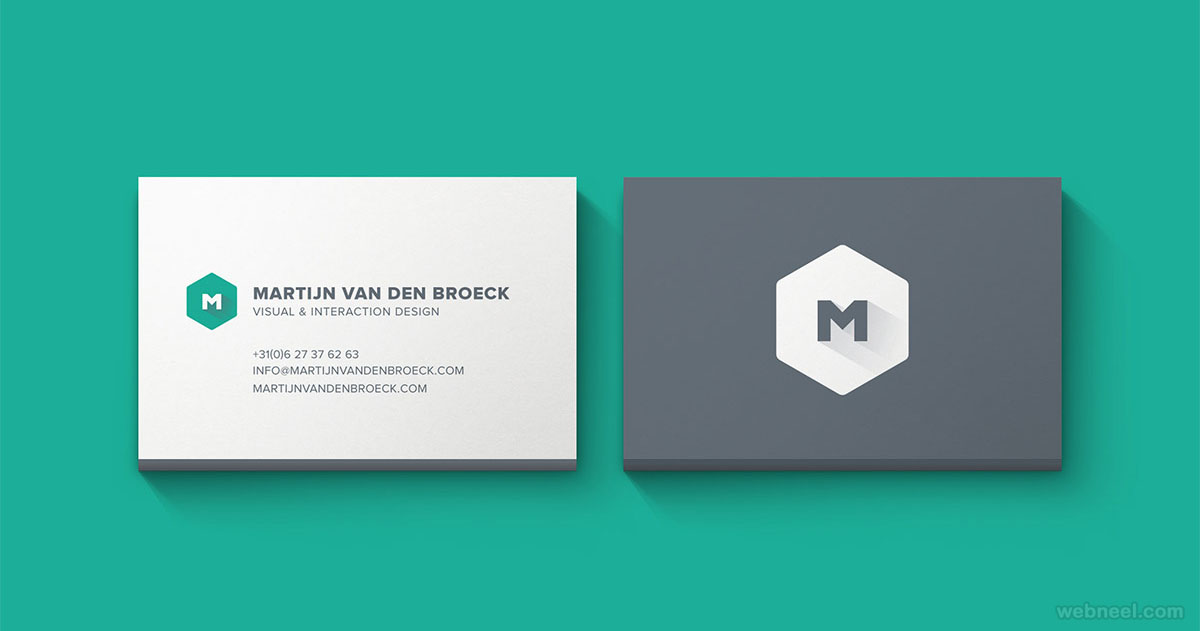 corporate business card design 3