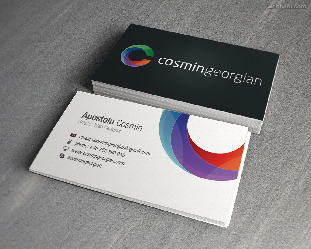 corporate business card design 6