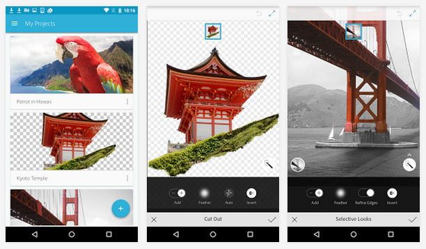 photoshop mix mobile app