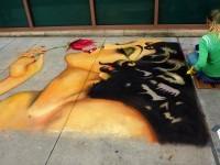 1-portrait-woman-chalk-art