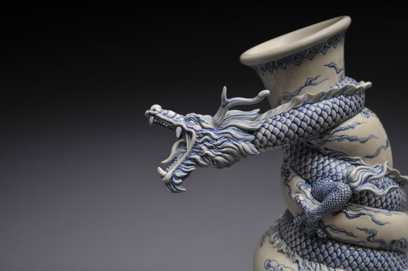 dragon creative sculptures