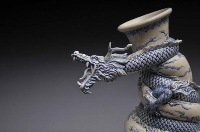 dragon creative sculptures