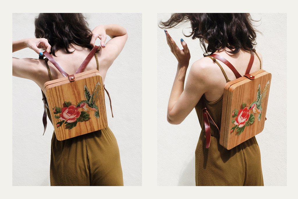wooden bag idea