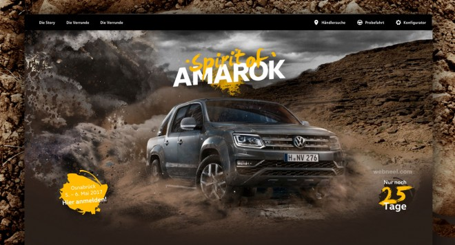 spirit of amarok branding design