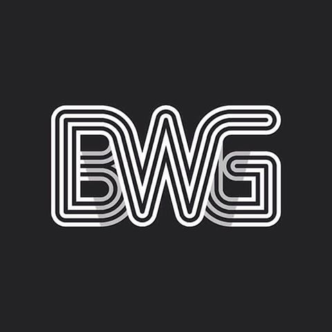 bwg mark head branding logo design