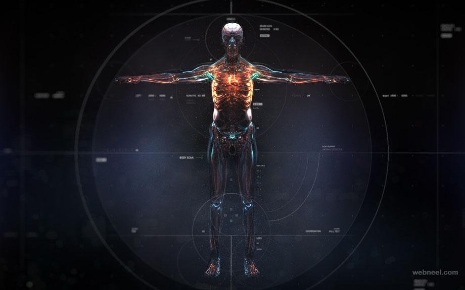 computer vision 3d motion graphics effect