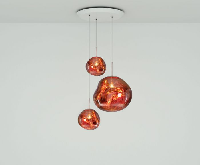 copper lighting design