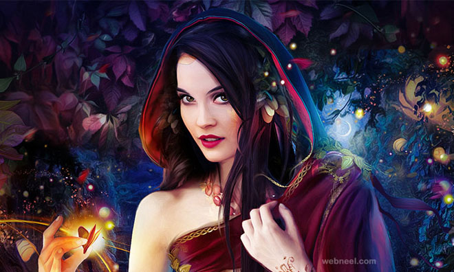 fantasy digital art work
