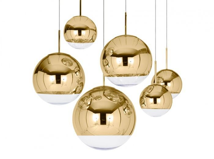 gold pendant lighting design