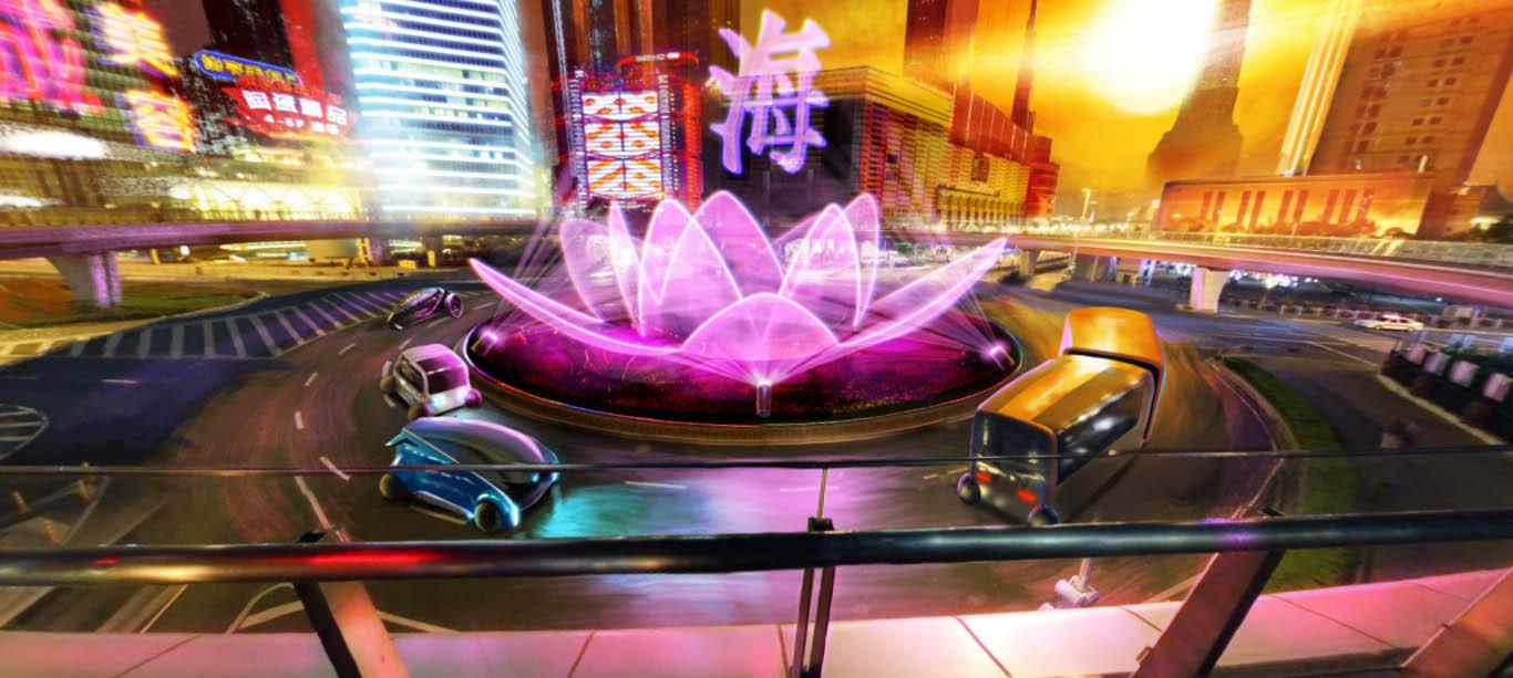 shanghai futuristic city design ideas
