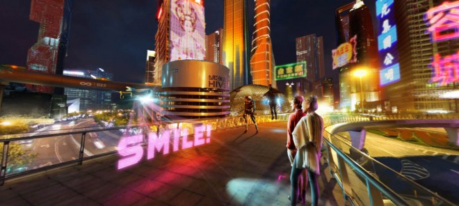 shanghai futuristic city design ideas