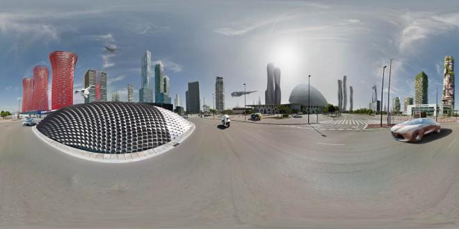 barcelona futuristic city design ideas